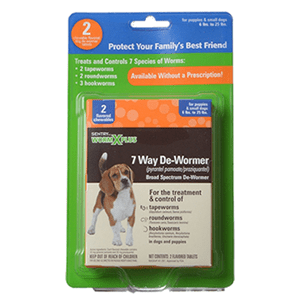 Sentry Worm X Plus 7 Way De-Wormer 2 and 6 Pack