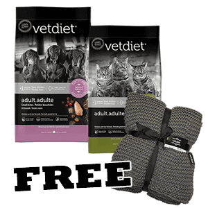 Free Blanket with Vetdiet purchase